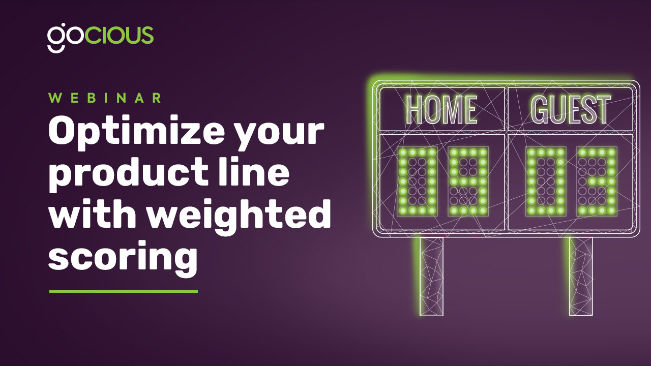 Optimize your product line with weighted scoring